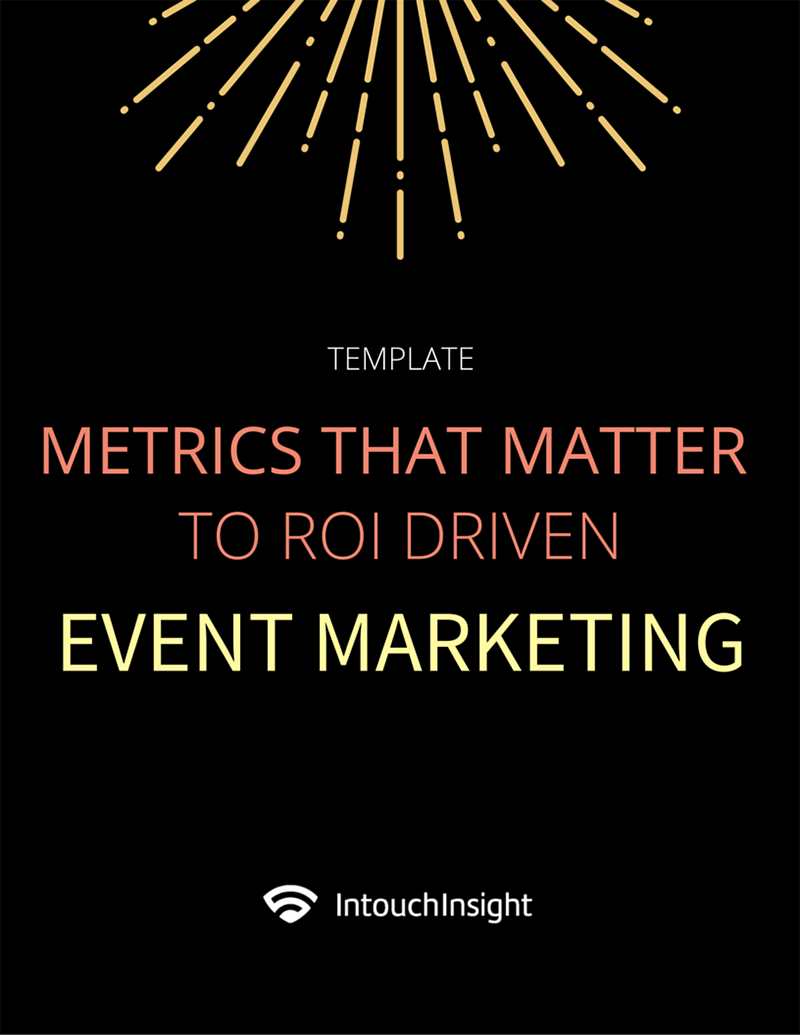 Template: Metrics that Matter to ROI Driven Event Marketing