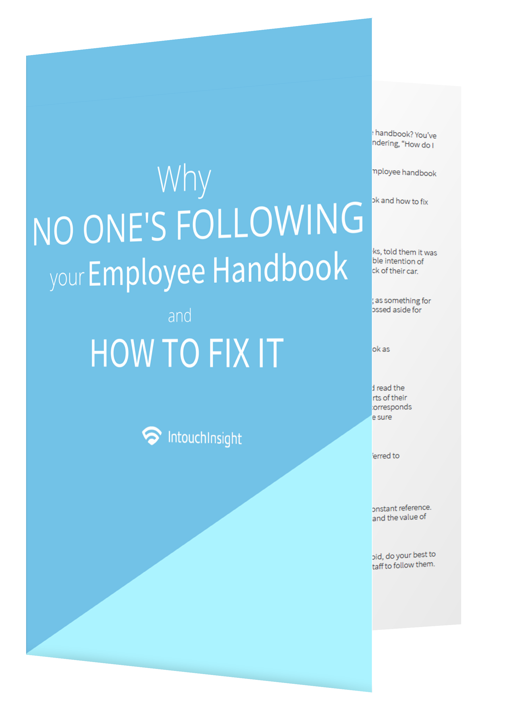 Why No One's Following your Employee Handbook Ebook