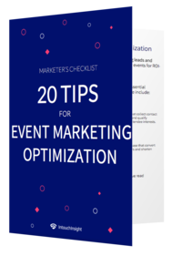 20 Tips for Event Marketing Optimization